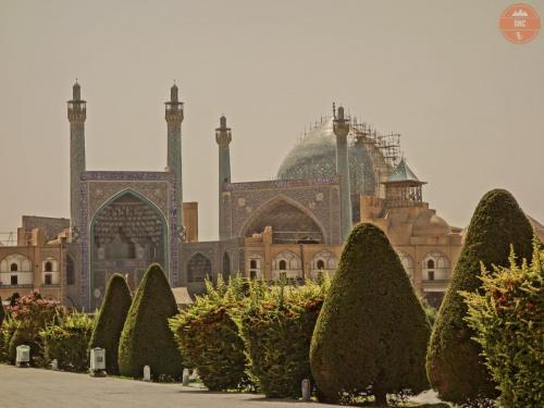 Šáhova (imámova)mešita - Isfahán