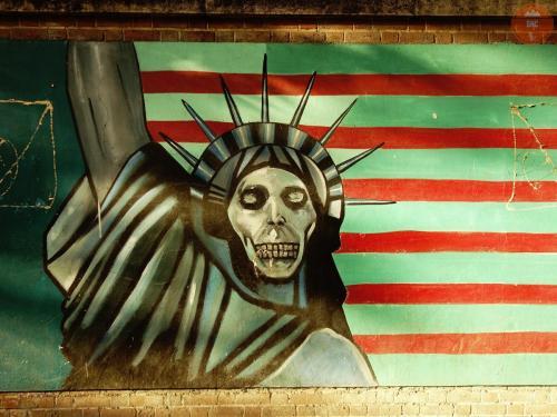 Americká ambasáda - Teherán