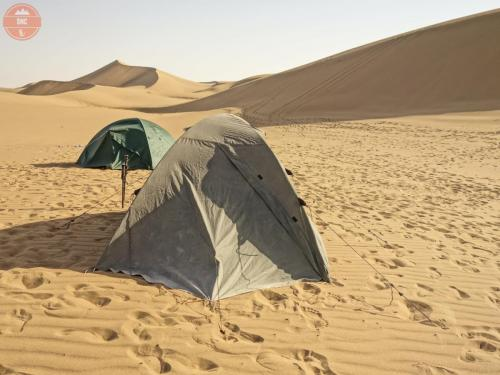 Bivak v poušti - Maranjab
