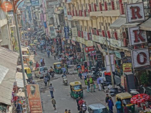 Hlavní třída na Paharganji - Dillí