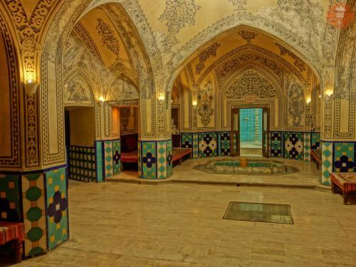 Lázně sultána Mira Ahmada - Kášán