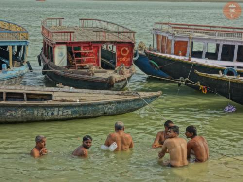 Očista v Ganze - Váránasí