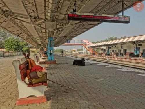 Ospalé vlakové nádraží - Mathura