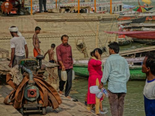 Posvátná Ganga - Váránasí