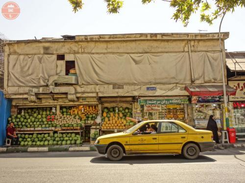Pouliční tržiště - Teherán