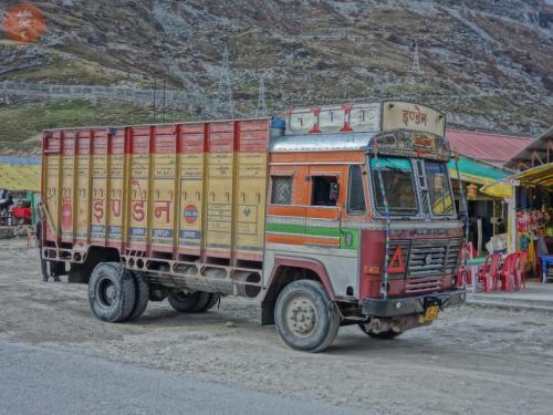 Svezení z vesnice Chhatru