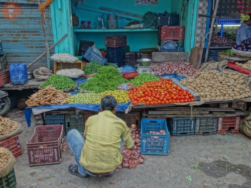 Tržiště na Paharganji - Dillí