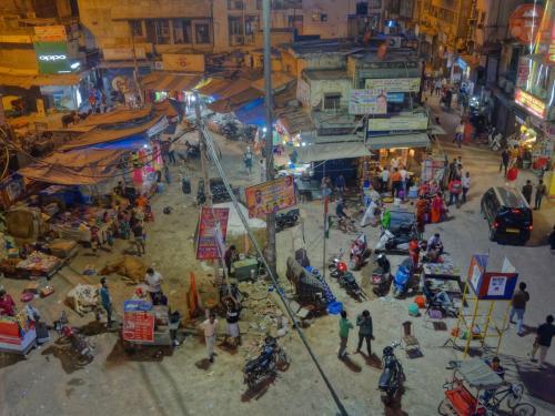 Večerní Paharganj - Dillí