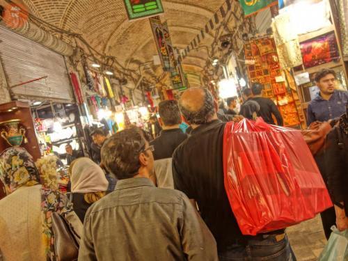 Velký bazar - Teherán