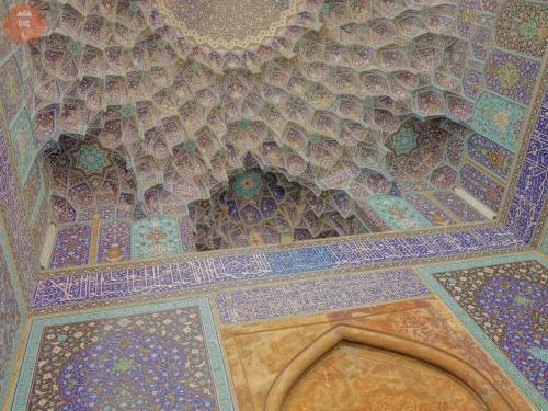Vstupní portál šáhovy mešity - Isfahán